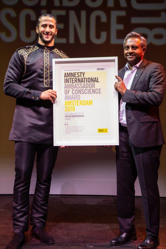 Ambassador of Conscience 2018