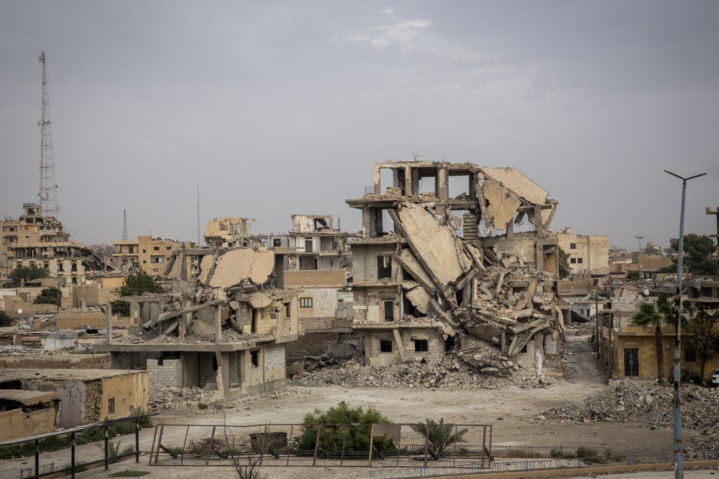 Raqqa, Syria - Oct 2018