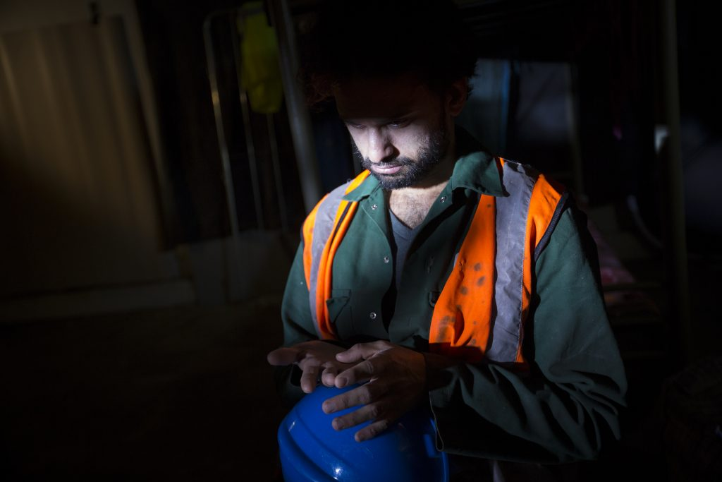 Qatar Migrant Workers - Stills from video