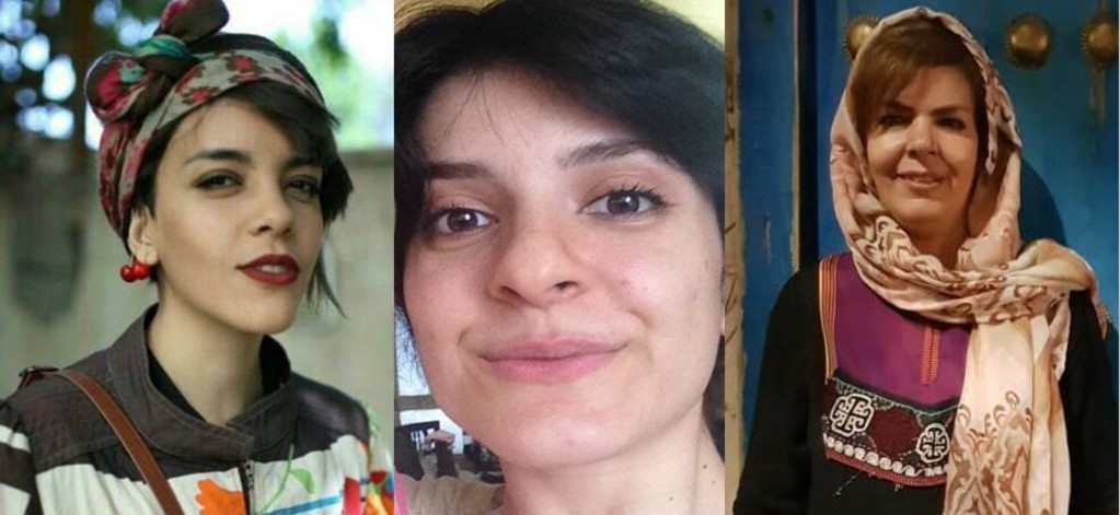 Iran women's rights defenders