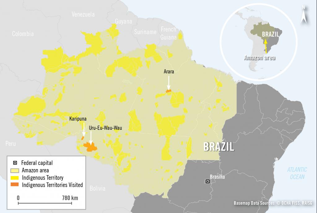 261984_Map of Brazilian Amazon region