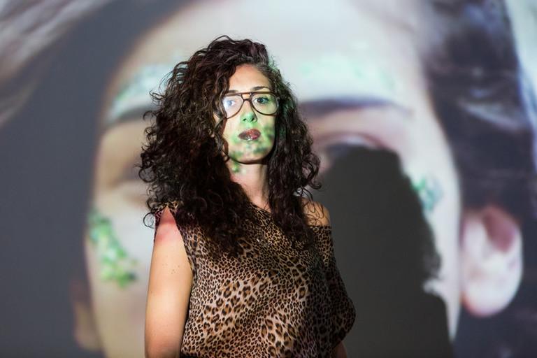 Paula Maffía, 35, singer