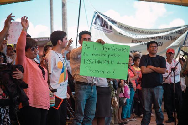 25th Maseual assembly of defenders of land, territory and environment in Hueyapan, Puebla, Mexico
