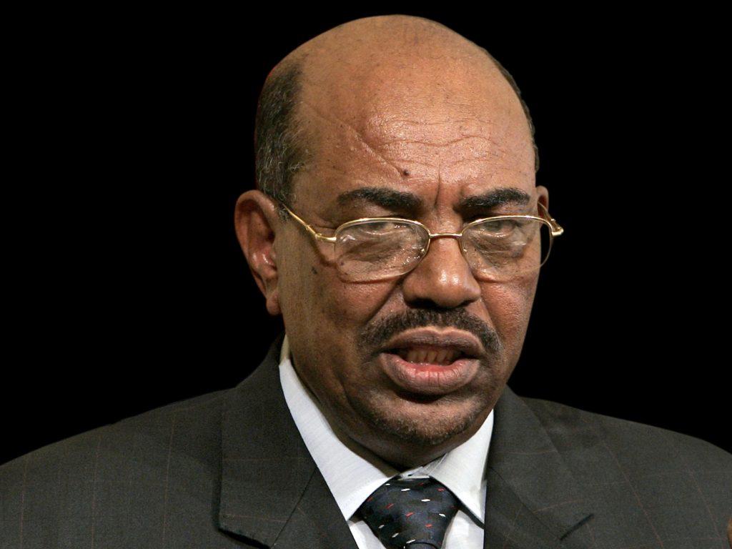 Omar Ahmed Al-Bashir, as President of Sudan.