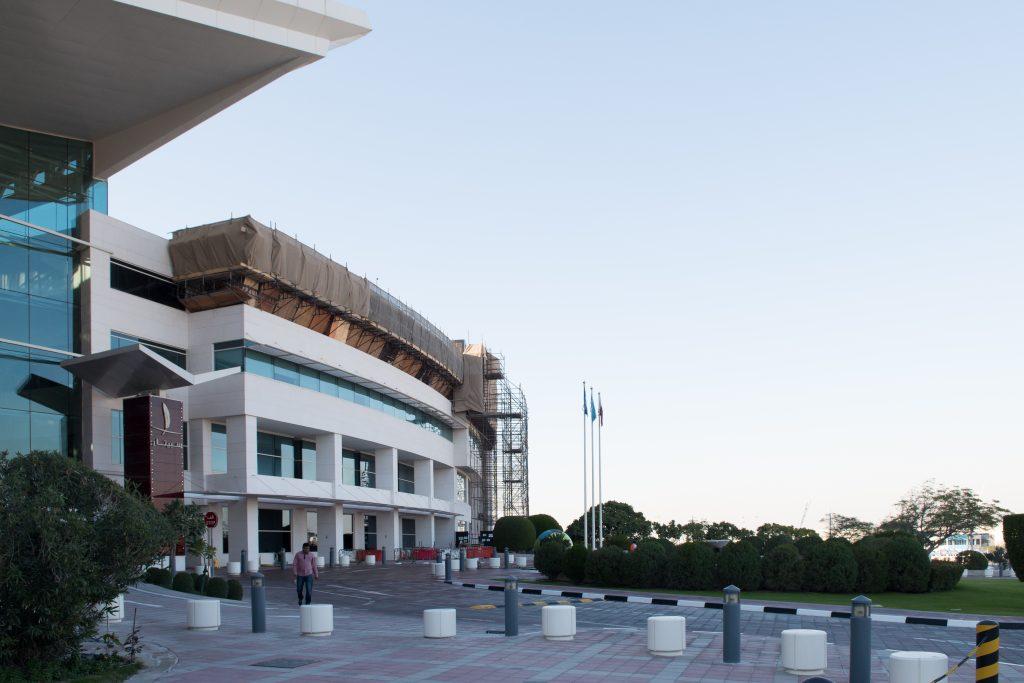 The Khalifa International Stadium under construction, Qatar