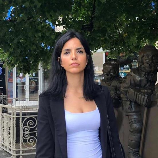 Azam Jangravi is a Canada-based Iranian women's rights activist.