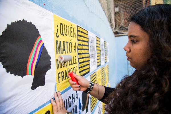 Terceiro dia de gravção Elisangela Leite/Anistia Internacional;