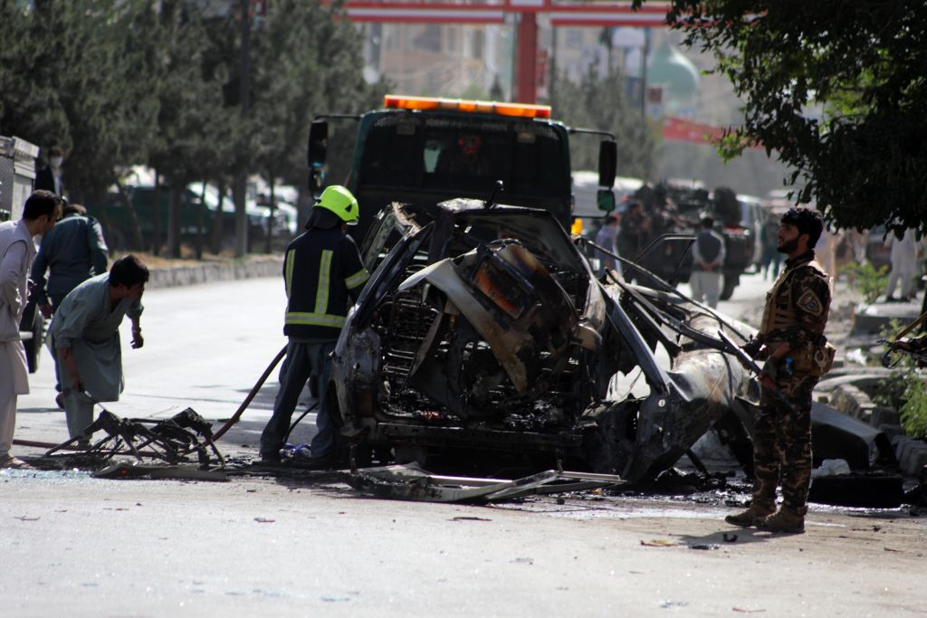 Bombing kills 7 in Afghanistan