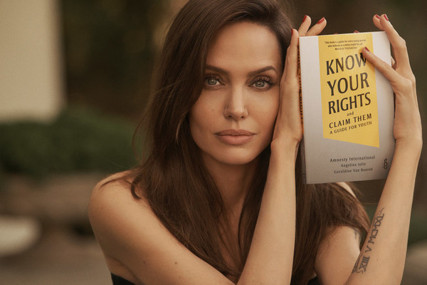 Angelina Jolie - Know Your Rights and Claim Them